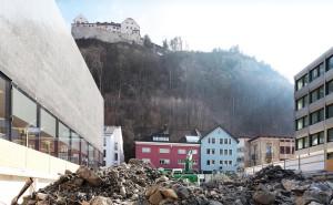 Baustelle Weisser Würfel © Eddy Risch