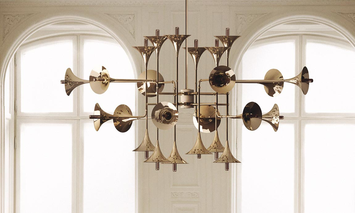 Deckenleuchter Botti © Delightfull Lamps