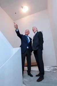 Michael Hilti und Norman J. Huber © Roland Korner