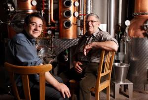 Planet Whisky: Marcel und Sebastian Telser © Telser Distillery Ltd.