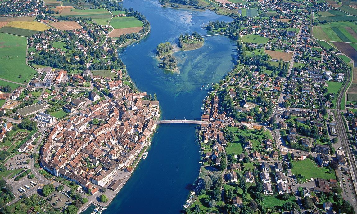 Luftaufnahme Stein am Rhein © Stein am Rhein