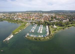 Ansicht vom Hafen in Radolfzell © Tourismus Stein am Rhein