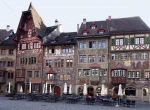 Rathausplatz in Stein am Rhein © Tourismus Stein am Rhein