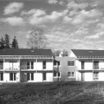1995 Wohnanlage Breiter Weg, Feldkirch Wohnanlage am Stadtrand: 2 Gebäude mit 12 Wohneinheiten © Bauart