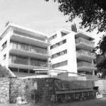 1998 Wohnanlage Himmelsstiege, Feldkirch Städtebauliches Projekt in Hanglage: 4 Häuser mit 21 Wohneinheiten © Bauart© Bauart