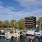 2014 marina:B, Lochau Wohn- und Geschäftshaus mit Tagescafé + 9 Eigentumswohnungen © Lang+Schwärzler, Bauart