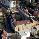 2004 Hotel Ibis, Bregenz 3-Sterne-Stadthotel, betrieben von der Accor Hotel Gruppe, mit 96 Hotelzimmern; innerstädtische Quartiersentwicklung St.-Anna-Str./Albert-Bechtold-Weg, Anschluss an bestehende Stadthäuser, 1 doppelstöckige Tiefgarage mit 102 Parkplätzen in gemeinschaftlicher Nutzung mit den Wohngebäuden B::west © Bauart
