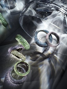 Colors of Love Dekorative Ringe mit Farbedelsteinen von Huber Private Label © Adolf Bereuter