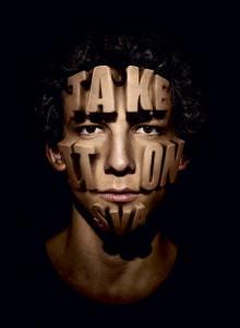 TAKE IT ON SVA Poster für die School of Visual Arts (SVA) in New York City © Sagmeister & Walsh