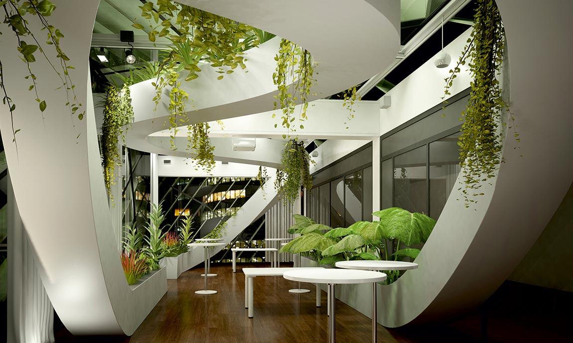 Atrium / Wintergarten © Haas InnenGrün