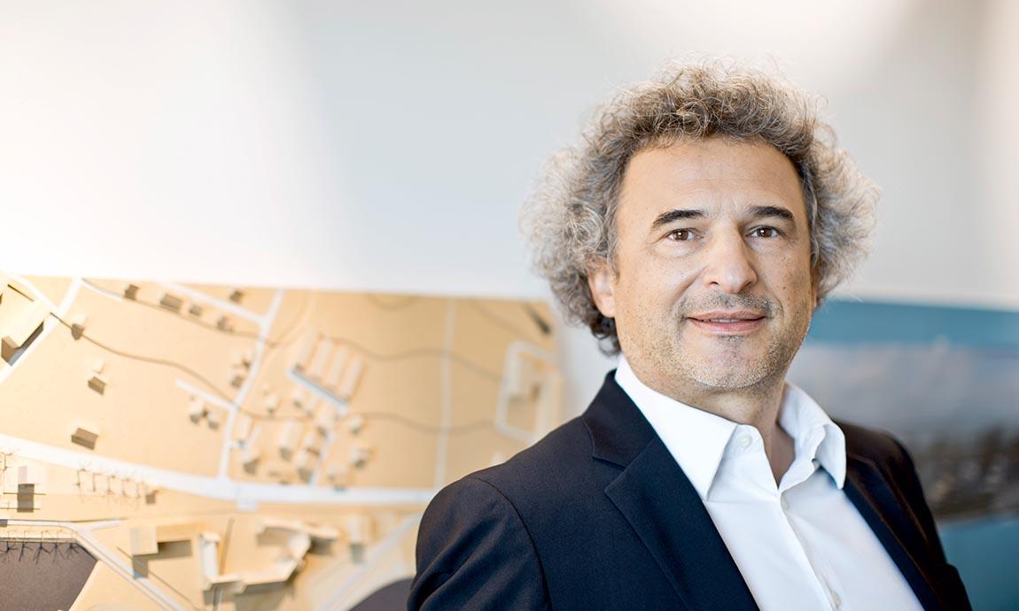 Roland Bircher, Geschäftsführer Bauart © Darko Todorovic, Bauart Bauträger GmbH