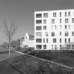 2010 Wohnhaus Wellenstein Am Kaiserstrand, Lochau Wohnhaus mit 17 Eigentumswohnungen, Tiefgarage mit 35 Einstellplätzen © Markus Gmeiner, Bauart