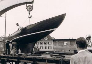 1945 im Hafen Romanshorn © Archiv Rutishausen