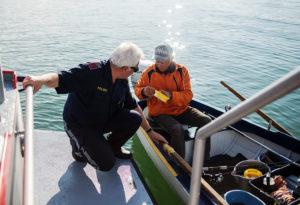 Reportage, Seepolizei, Hard am Bodensee, Fischerboot
