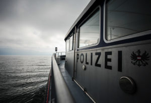Seepolizei Boot