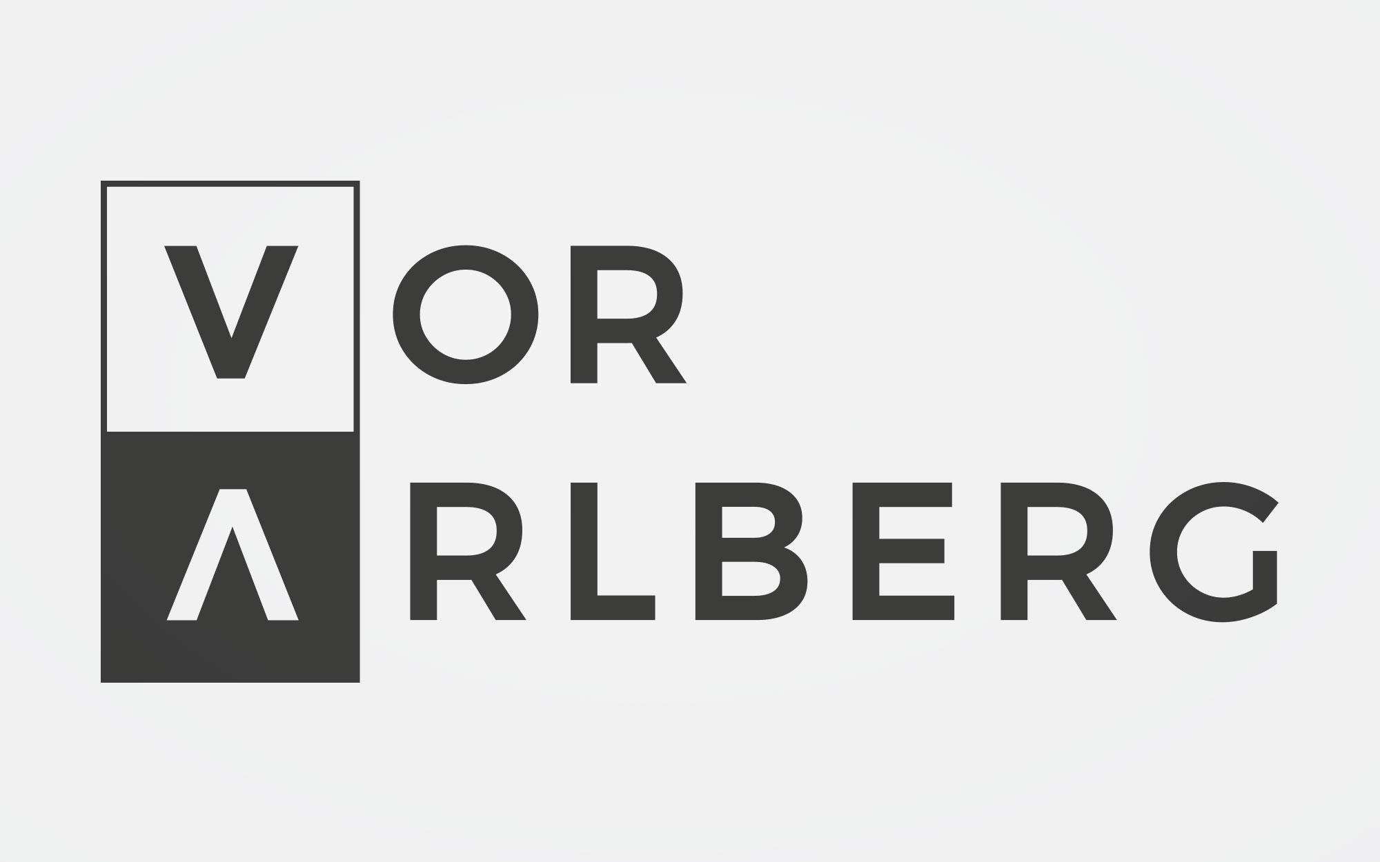 Logo/Erscheinungsbild Marke Vorarlberg