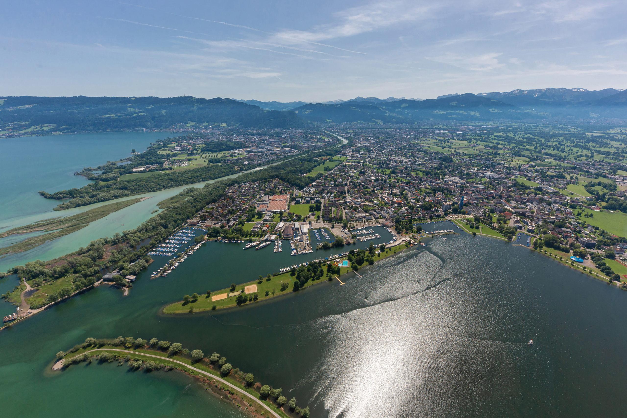 Hafen Hard am Bodensee
